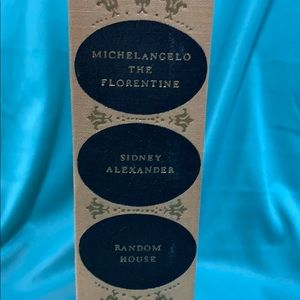 Michaelangelo The Florentine by Sidney Alexander 2